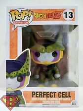 "PERFECT CELL Dragon Ball Z Pop Animation 4"" inch Vinyl Figure #13 Funko 2015"