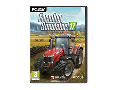 Farming Simulator 17 (PC CD) *Brand New Sealed Pack*