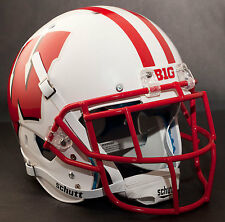 *CUSTOM* WISCONSIN BADGERS Schutt XP AUTHENTIC Football Helmet w/EGOP