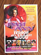 Rare Pam Ann 2008 Tour Terror at 41000 ft Live Tour Flyer