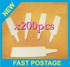 95mm Plant Pot Label x200pcs + Sharpie Marker - Great for Propagation & Seedling