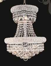 Speical Limited Edition 9 Light Fine Crystal Chandelier Light Chrome