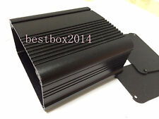 Black DIY Aluminum project Box Enclosure Case Electronic for PCB 100x95x54mm