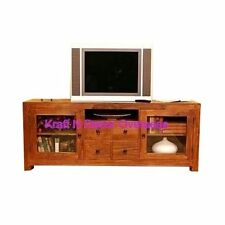 Comtempory T.V/LCD Stand of  Wood Size 150 X 50 X 45 Cms in Black & Brown Colour