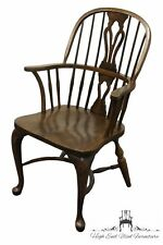 NICHOLS & STONE Oak Bowback Windsor Arm chair 705-750