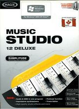 MAGIX MUSIC STUDIO 12 DELUXE AUDIO EDITING PC SOFTWARE XP/Vista 32-Bit Only