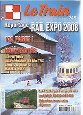 LE TRAIN N°249 TGV POS JOUEF / TRAIN AUTOMOTEUR TEE RAM TRIX / BB 800-900 ET 300