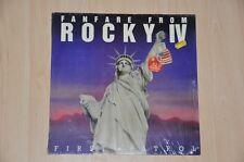 """Rocky Fanfare Rocky IV - Maxi Single 12"""" Soundtrack OST - Vinyl Schallplatte LP"""