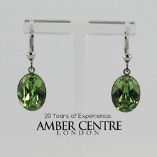 NEW!GENUINE HAND MADE COEUR DE LION GREEN COLOUR EARRINGS RRP£60-4809/0523 20