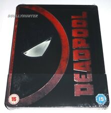 DEADPOOL - BLU RAY (UK EXCLUSIVE STEELBOOK ) MARVEL, RYAN REYNOLDS, REGION FREE