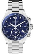 NEW Claude Bernard 10212 3B BUIN Womens Aquarider Chronograph Tachymeter Watch