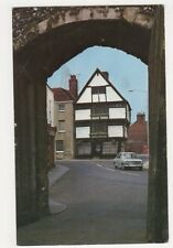 King's School Shop, Canterbury 1969 Postcard, B321