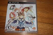 Brand New Factory Sealed PS3 Tales of Zestiria SHIP FREE US FAST