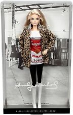 Barbie Collector Andy Warhol Campbells Soup Can 1 Doll