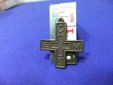 vtg badge pendant cems church england mens society founded 1899 fraternity