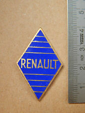 BADGE PLACCA SMALTATA RENAULT VINTAGE 4CV ETC