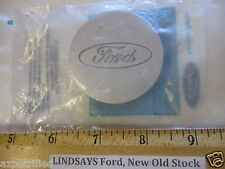 "FORD 1992/1993 ESCORT ""CAP"" WHEEL CENTER EMBLEM ORNAMENT UNOPENED, FREE SHIPPING"