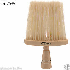 Sibel Eterna Wooden Neck Hair Brush For Barber Hairdressing Natural Bristles