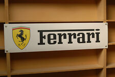 Ferrari workshop / garage pvc banners