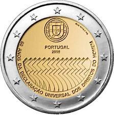 2 EURO Portogallo 2008 - Diritti dell' Uomo