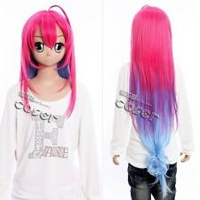 W-360 A Dark Rabbit Has Seven Lives SAITOHIMEA pink 100cm COSPLAY Perücke Wig