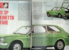 MA119-Clipping-Ritaglio 1975  Fiat Berlinetta 128 3P