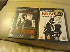 Max payne 1 and Max complete with books 2 ps2 PlayStation 2 bundle