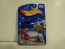 Hot Wheels 2001 Race & Win Series Fright Bike 1/64 die cast motorcycle chopper