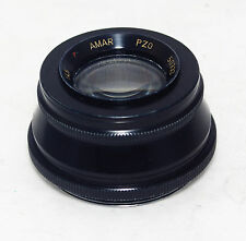 AMAR 4.5/105mm PZO ENLARGING LENS Poland M42 Macro/S RED P medium format nex MFT