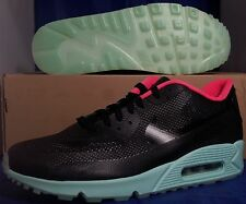 Nike Air Max 90 Hyperfuse Premium iD Black Mint Pink Yeezy SZ 10 ( 653603-992 )