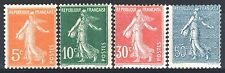 FRANCE ANNEE COMPLETE 1921 YVERT 158/161 , 4 TIMBRES SEMEUSE NEUFS xx TTB  M887
