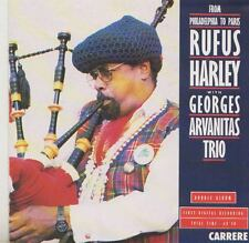 RUFUS HARLEY  GEORGES ARVANITAS TRIO    CD FROM PHILADELPHIA TO PARIS