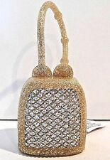 BATH & BODY WORKS SPARKLING GOLD DIAMOND POCKETBAC SANITIZER HOLDER SLEEVE NEW!