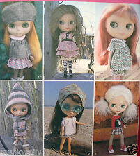 "SEWING PATTERN Simplicity 2353 CLOTHES OUTFITS WARDROBE for 12"" BLYTHE Doll"