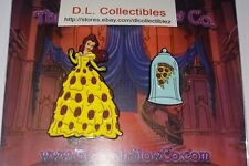 Disney Beauty and the Beast Fantasy Pizza Dress And Glass Belle Pin