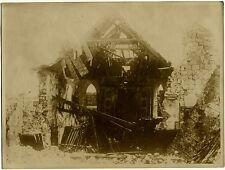 Gr. Pressephoto, 1. Weltkrieg. Langemark um 1916