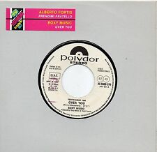 ROXY MUSIC ALBERTO FORTIS disco 45 g. PROMO JUKE BOX stampa ITALIANA + STICKER