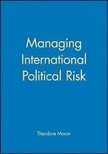 Managing International Political Risk (Blackwell Series in Business)  Paperback