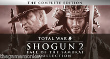 TOTAL WAR SHOGUN 2 FALL OF THE SAMURAI Collection [ PC ] Codice a vapore