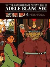 The Extraordinary Adventures of Adele Blanc-Sec: The Mad Scientist  Mu-ExLibrary