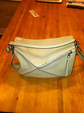 "Authentic Loewe Puzzle Leather Bag Rare ""NUDE"" color Large"