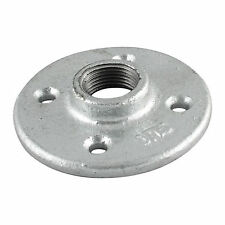 "1-1/4"" GALVANIZED MALLEABLE IRON FLOOR FLANGE fitting pipe npt"