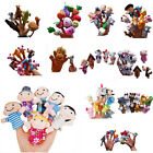 Animal Finger Puppets Plush Cloth Doll Baby Educational Hand Kids Boy/Girl Toy