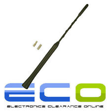 CT27UV49 BMW Mini One Cooper Black Beesting Whip Mast Car Roof Aerial Antenna