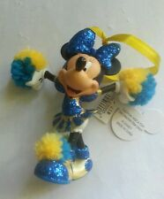 NEW Disney parks exclusive Christmass Ornament Minnie Mouse Cheerleader