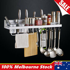 Multifunction Kitchen Pantry Storage Rack Organizer Knife Holder Spice Shelf OZ