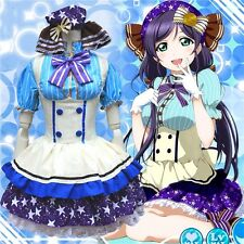 Love Live Tojo Nozomi Candy Maid Uniform Princess Lolita Dress Cosplay Costume
