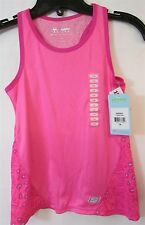 Skechers Active Pink Racer back Tank Top Girl's Size 7/8 NWT NEW