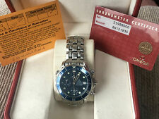 Omega Seamaster Automatic Chronograph. Boxed with papers