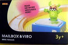 Brio 33288: Mailbox & Viro zu Brio Network, 3-teilig mit Figur, NEU & OVP